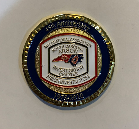 45th anniversary challenge coin